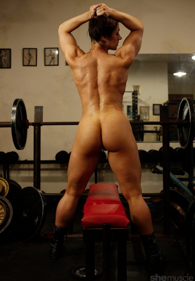 bodybuilders in the nude