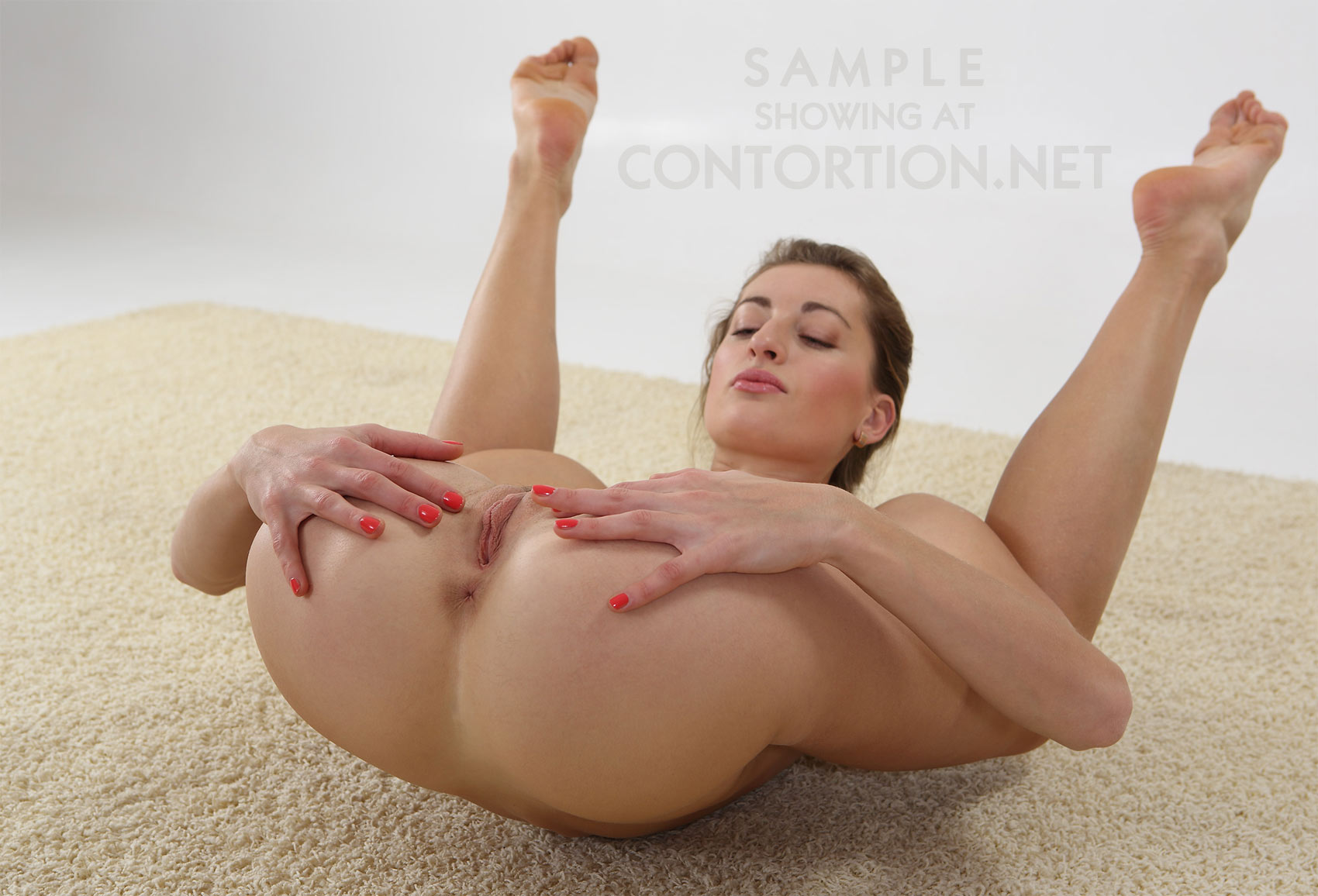Sexy flexible contortionist nude simply matchless