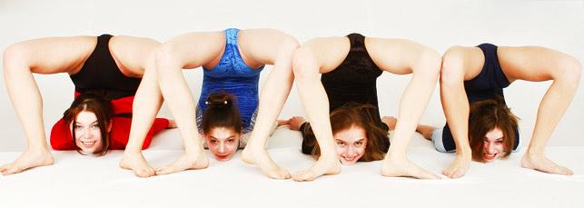 Female Gymnast Leotard See Through